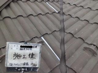 屋根コーキング打ち