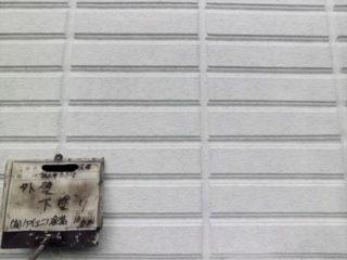 ALC板外壁塗装下塗り
