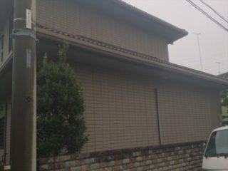 栃木市 O様邸 外壁・熱交換屋根塗装工事全体施工前