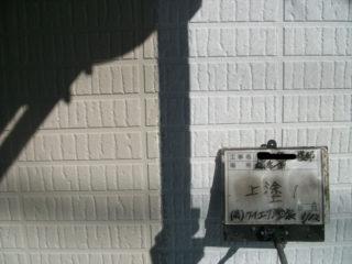 1階外壁塗装中塗