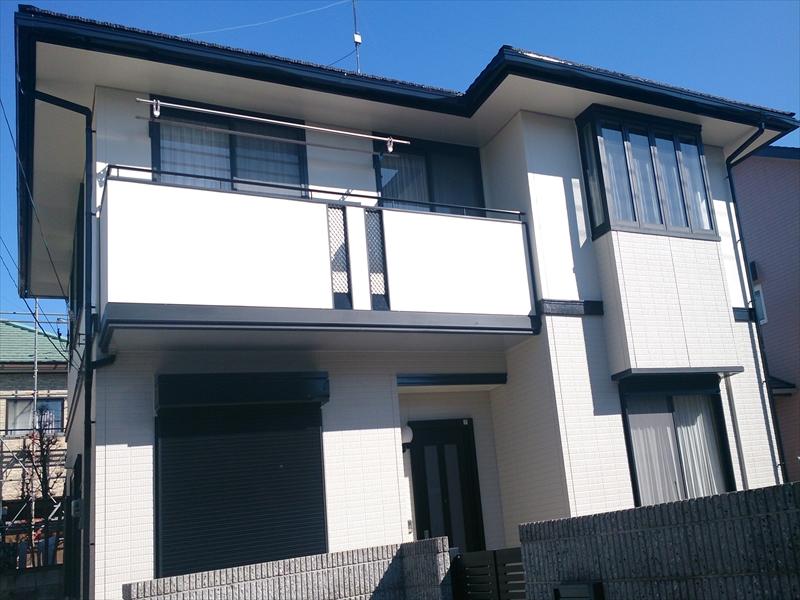 ケイエフ塗装の外壁塗装屋根塗装施工事例