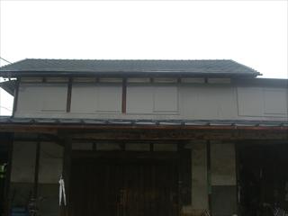 トタン外壁・トタン屋根施工後