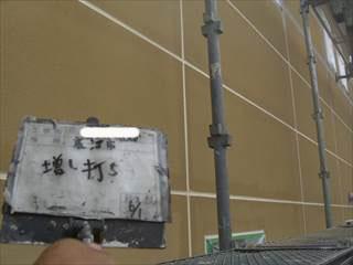 外壁ALC板間目地ウレタンシーリング打ち