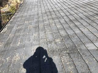 コロニアル屋根施工前写真
