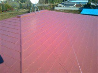 小山市 T様邸 屋根塗装施工後