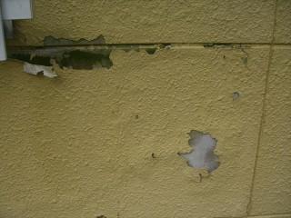 外壁サイディングハガレ