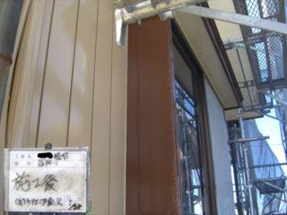 外壁塗装木枠施工後