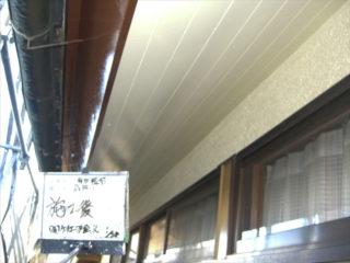外壁塗装軒天施工後