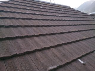 モニエル瓦屋根塗装施工前