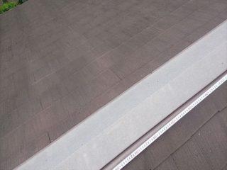 屋根塗装棟笠木施工前