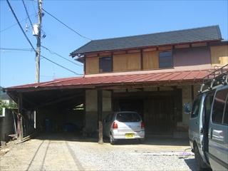 栃木片柳町外壁築50年経過