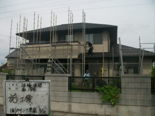外壁塗装工事 鹿沼市K様邸