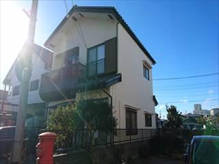 栃木市S様邸雨漏り外壁塗装