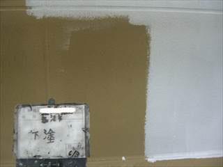 外壁ALC下塗り