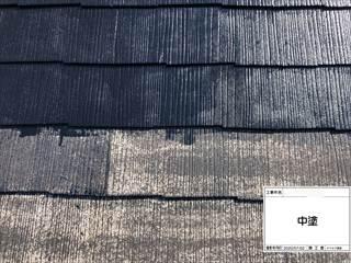 屋根ラジカル塗料中塗